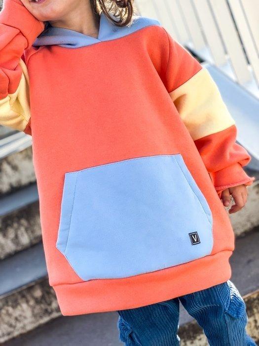 Bluza trójkolorowa MALERO